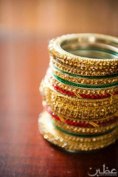 bangles for the beautiful brides Bridal Party Jewelry, Wedding Jewelry, Girls Accessories, Bridal Accessories, Indian Jewelry, Unique Jewelry, Indian Bangles, Wedding Prep, Marrying My Best Friend