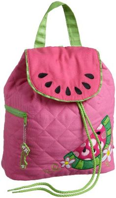 Stephen Joseph Girls Girls Quilted Backpack, Watermelon, One Size Girls Quilts, Kids Backpacks, Boy Outfits, Butterfly, Boys, Joseph, Watermelon, Strawberry, Amazon