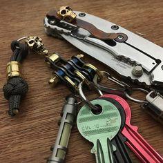 Keychain 3Bike-Link with swivel axis
