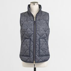 NWT J Crew Navy Puffer Vest New with tags J Crew puffer Vest NAVY J. Crew Jackets & Coats Puffers