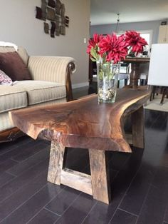 selling live edge walnut coffee tables , finished with natural tung oil , your…