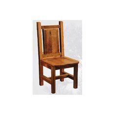Found it at Wayfair - Artisan Barnwood Dining Side Chair in Antique Oak