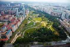 CH2M, a leader in green infrastructure projects such as this one in Singapore, has won the 2016 World Environment Center Gold Medal in sustainability