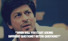 king of #bollywood industry Shahrukh khan said to reporter #srk