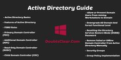 Active Directory Complete Guide