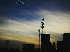 Shooting stars in Frankfurt Germany, Shooting Stars, Utility Pole, Falling Stars, Party Sparklers