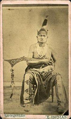 Going Snake - Osage – 1865