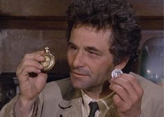 Peter Falk as Detective Columbo