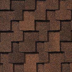Mesa Brown #gaf #designer #roof #shingles #swatch