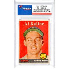 Al Kaline Detroit Tigers 1958 Topps #70 Card - - $79.99
