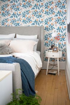 How to redesign a non-square bedroom.