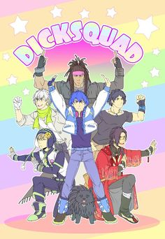 Dmmd, DRAMAtical Murder, Art by Madelezabeth on Tumblr. she is amazing follow her