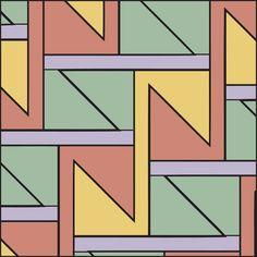 Get the Book! Geometrical Tile Patterns: 1,000 Tiles for Art, Graphic Design and Craftwork at http://www.lulu.com/shop/jay-friedenberg/geometric-tile-patterns/paperback/product-21072481.html. Jay Friedenberg.