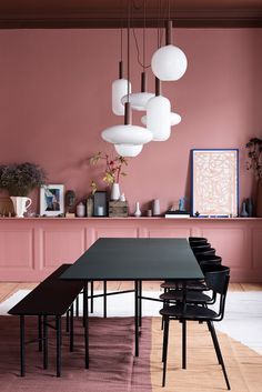 Ferm Living have decorated a classic, old apartment in Amagertorv, Copenhagen. Ferm Living Home interiors home decor pink Peach decor. Picture accessories Scandi design modern on trend Scandinavian Decor Interior Design, Interior Decorating, Room Interior, Kitchen Interior, Room Kitchen, Kitchen Decor, Kitchen Cupboard, Kitchen Cabinets, Deco Rose