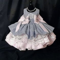19 dog fashionable dresses gifts for dog lovers you should know! Baby Girl Party Dresses, Dog Dresses, Little Girl Dresses, Cute Dresses, Flower Girl Dresses, Fairy Costume For Girl, Dress Anak, Kids Gown, Baby Dress Patterns