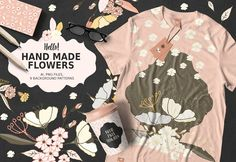 Hand Made Flowers by Webvilla on @creativemarket