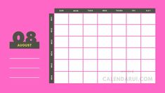 Blank Fillable Calendar Free : Welcome we say to all of you who are looking for a blank fillable calendar. Below we provide some examples of fillable calendars that we made with a simple design but very easy for the eye to see. School Plan, School Schedule, Fillable Calendar, Cute Calendar, Blank Calendar Template, Free To Use Images, Simple Designs, Finding Yourself, Printables