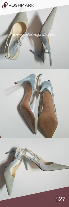 3e3448f76fb BCBG 6.5 Leather and Suede Color block Heels 💦💦6.5 💦💦Leather 💦💦Suede  💦💦Heels 💦💦Strappy 💦💦Good condition 💦💦No cracks 💦💦No peels  💦💦Heels ...