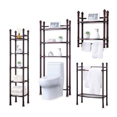 Bathroom Fixtures 2019 Latest Design New 24-inch Gold Crystal Bathroom Shelves With Towel Bar,towel Rack Bathroom Hardware Accessories Polish Home& Garden A Great Variety Of Goods