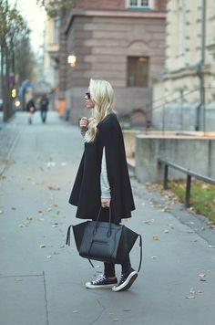 CASUAL CAPE & CHAOS : P.S. I love fashion by Linda Juhola