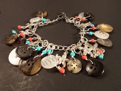 2 in 1 Button Bracelet Necklace Combo Colorful by TideTogether