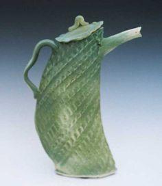 Green Dancing Teapot