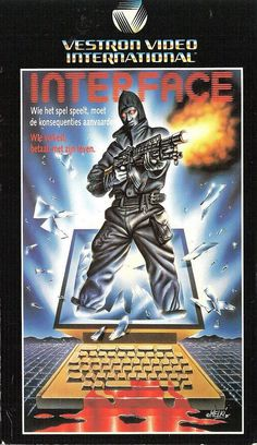 You knew going in that the grade-Z action flick filmed in the Philipines was never going to live up to the box art. yet, you rented anyway. Cool Posters, Film Posters, 1984 Movie, Horror Posters, Fiction Movies, Movie Poster Art, Vintage Horror, Book Cover Art, Retro Art