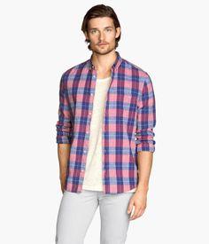 H&M Linen-blend Shirt $24.95
