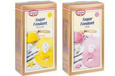 Dr. Oetker värikkäät sokerimassat 250 g