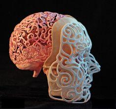 Un autorretrato del siglo XXI. | 15 Cosas geniales que la gente hace con cráneos humanos