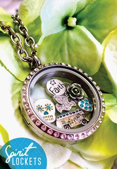 Spirit Lockets has a wide variety of floating charms which make creating your own Spirit Locket easy!