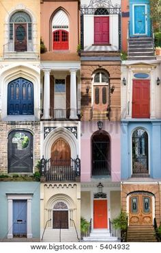 Charleston doors....I miss Charleston need to come visit my family and friends!