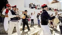 """sonador"" (sounder, he who makes noise) with the drum and the ""flaüta"" (flute) ibiza - Google Search"