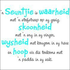 Afrikaans Wall Stickers - Page 3 of 3 - Vinyl Art SA Wall Quotes, Words Quotes, Life Quotes, Family Quotes, Funny Quotes, Family Subway Art, Baby Boy Quotes, Afrikaanse Quotes, Perfection Quotes