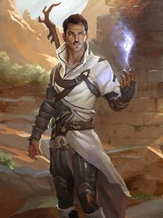 Dragon Age Inquisition fantasy art - These ruins do not excite the dowsing spark; we should continue moving. Dark Fantasy, Fantasy Male, Fantasy Rpg, Medieval Fantasy, Fantasy Artwork, Character Concept, Character Art, Concept Art, Character Ideas