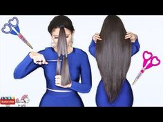 Como Cortar El Cabello En Capas y V Hazlo Tu Misma Bessy Dressy - YouTube