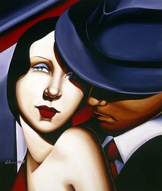 Adam and Eve (Gangster Study) 2001  Catherine Abel