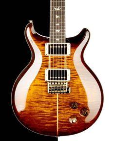 2015 PRS Santana Electric Guitar, Black Gold Wrap