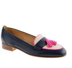 J CREW Biella Tassel Loafers - Lyst