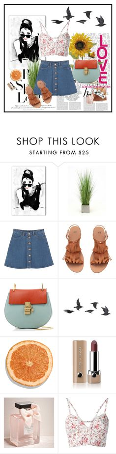 """""""Untitled #29"""" by elisheva-menashe ❤ liked on Polyvore featuring Whiteley, H&M, Oliver Gal Artist Co., Distinctive Designs, Monki, Chloé, Jayson Home, Marc Jacobs, Abercrombie & Fitch and Etro"""