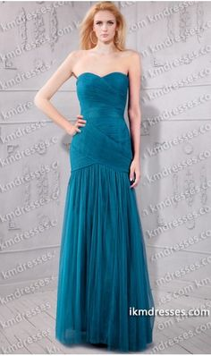 http://www.ikmdresses.com/flattering-strapless-ruched-sweetheart-pleated-mermaid-dress-p60646