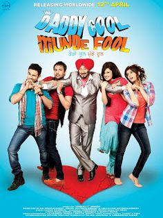 'DADDY COOL MUNDE FOOL' is a comical satire movie, which unfolds the story of a Punjabi family presently living a prestigious life in Punjab. The story revolves around a widower called Parminder Singh Puppy and his two irresponsible and Notorious sons Gunny and Money. Parminder Singh Puppy is worrie