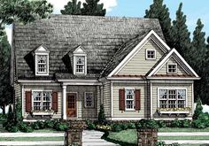 Heydon Hall (c) - Home Plans and House Plans by Frank Betz Associates