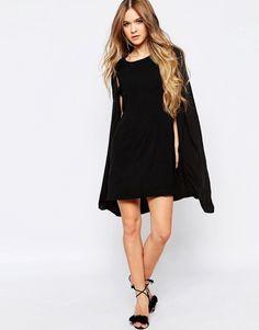 Image 4 ofLiquorish Cape Dress