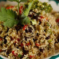 Merry Graham's Mexican Confetti Quinoa Pilaf Recipe on Rachael Ray show.