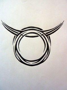 taurus tattoos | Tribal Zodiac Taurus By Magpievon On Deviantart - Free Download Tattoo ...