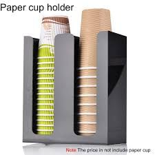 New Plastic Water dispenser accessories automatic cup disposable paper cup storage box cup holder Water Dispenser, Knife Block, Housekeeping, Storage Organization, Coffee Shop, Paper Cups, Bar Tools, Food Truck, Ideas Para