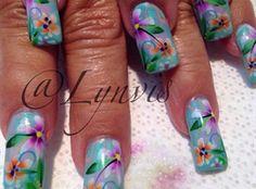Cruise Nails by LynnMKnapp