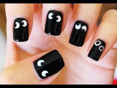 Diseño de uñas pintadas fantásticas !!!