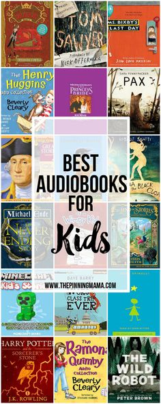 25 Great Audio Books for Kids! This is a great way to get kids to read and love books! {ad}